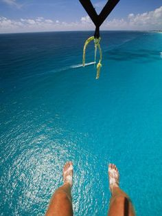Go parasailing....