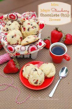 ... | Cranberry orange scones, Chocolate scones and Chocolate chips