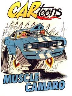 Cartoons. It's funny because they are cartoons of cars, and they are called cartoons. Oh, the lols.