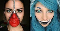 33 maquillages d'Halloween terrifiants