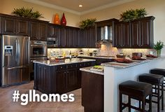 Amazing gourmet kitchens - new homes in Florida by GL Homes practically my ideal kitchen