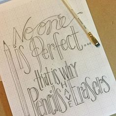 Happy #nationalpencilday ✏️- celebrating with a little tv time practice in honor of pencils! #doodlelove #handlettering #blackwing