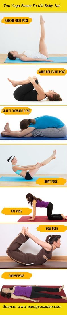Top #Yoga Poses To Kill #Belly #Fat