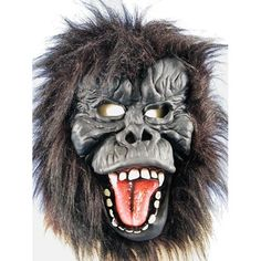 Gorilla Mask Halloween Costume