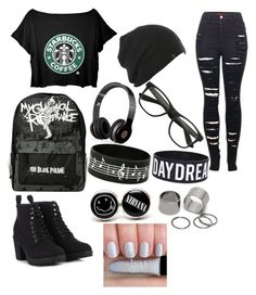 """""""Untitled #1"""" by xvioletx1999 ❤ liked on Polyvore featuring 2LUV, Call it SPRING, Beats by Dr. Dre and Pieces"""