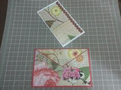Envelop card with removable message card by Raz & Dazzle Ink