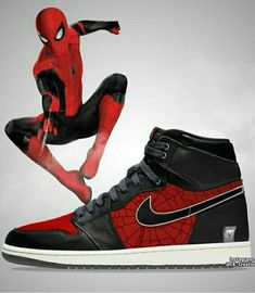Different Types Of Sneakers – Sneaker Deals Marvel Shoes, Marvel Clothes, Custom Sneakers, Custom Shoes, Zapatillas Jordan Retro, Nike Shoes, Sneakers Nike, Sneakers Design, Moda Pop