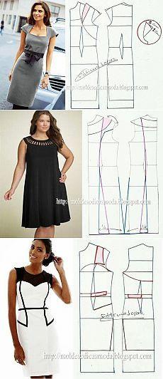Сногсшибательные платья - выкройки на любой вкус