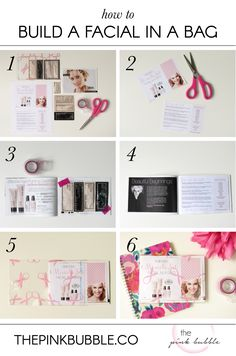 Facials in a Bag are just brilliant, in my opinion! They are so easy to put  together and turn out so cute! You can keep them in your purse to hand out  when you're running errands or quick drop them in the mail to send to  customers. When customers don't have time to get together for a facial, a