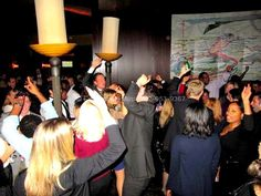 Del Frisco's NYC DJ for Law Firm Holiday Party