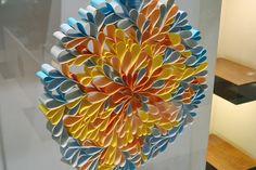 Flower paper sculptures | ave estudio