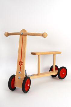 Wenzel 300 - Patinete de madera, 39 cm [importado de Alemania]: Amazon.es: Juguetes y juegos