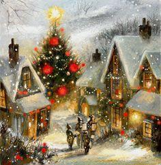 Мобильный LiveInternet Зимне-праздничное... замечательные картины Jim Mitchell   Пусть_буду_-_Я - Дневник Пусть_буду_-_Я  