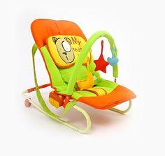 Leżaczek MAXI od firmy Milly Mally z motywem misia.  #lezaczki #dzieci #supermisiopl