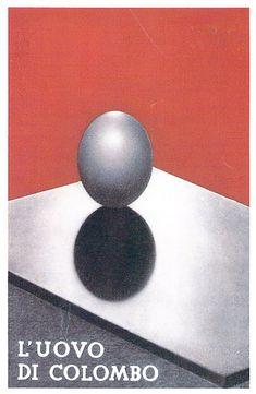 El Huevo de Colón, 1933 Designer : Antonio Boggeri.