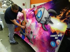 Rocket Fueled Car Wrap for Janet's Planet by 12-Point SignWorks