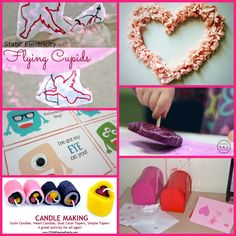 Looking for fun Valentine's ideas for the kids? Check out this collection of easy ideas!