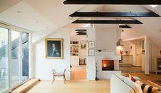 La Buhardilla - Decoración, Diseño y Muebles: Magnifico ático en Suecia Loft, Rooftop Terrace, Ideal Home, House Design, Bed, Outdoor Decor, Furniture, Home Decor, Living Rooms