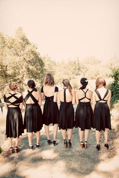 Wedding Trends – Special Back Design Details of Bridesmaid Dresses 2014 Two Birds Bridesmaid, Bridesmaid Dresses 2014, Black Bridesmaids, Bridesmaids And Groomsmen, Be My Bridesmaid, Wedding Dresses, Prom Dresses, Infinity Dress Styles, Wedding Styles