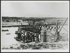 Bridge building, Murray Bridge, South Australia, 1876 | Flickr - Photo Sharing!