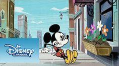 Mickey Mouse Dibujos Animados En Español Latino - La Flor Para Minnie - YouTube