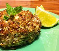 Cantinho Vegetariano: Quibe Assado de Abobrinha (vegana)