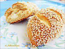 ΤΙ ΜΑΓΕΙΡΕΥΟΥΜΕ ΣΗΜΕΡΑ?ΜΑΡΙΑ ΚΥΡΙΜΛΙΔΗ!: ΤΥΡΟΨΩΜΑΚΙΑ ΤΟΥ Π.ΑΘΑΝΑΣΙΟ Bread Cake, Greek Recipes, Bagel, Recipies, Breads, Food, Recipes, Bread Rolls, Essen