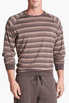 Daniel Buchler Silk/Cotton Crewneck Sweatshirt