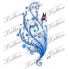 children's name tattoos for women - Google Search