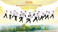 """God gave His glory to Israel then moved it away from there,bringing the Israelites and bringing all men to the East.God has led them all to the """"light""""so that they may be reunited and associate with light,no longer have to search, search for the light. Worship Dance, Praise Dance, Worship God, Praise Songs, Worship Songs, Praise And Worship, Praise God, Tap Dance, Christian Music Videos"""