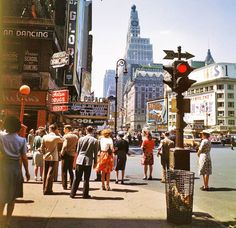 Times Square, New York City, 1950s