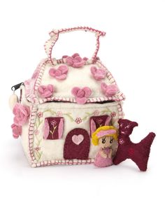 Felted Doll House Bag Set by Én Gry & Sif #zulily #zulilyfinds