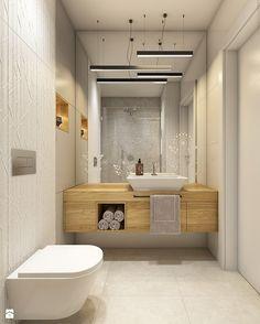 Z folklorem w tle - Średnia łazienka bez okna, styl skandynawski - zdjęcie od WERDHOME