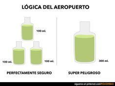 La lógica del aeropuerto.
