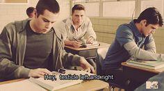 Stiles and Scott <3 Teen Wolf