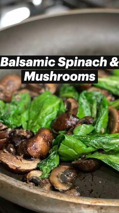 Vegetarian Dinners, Vegetarian Recipes, Cooking Recipes, Healthy Recipes, Healthy Mushroom Recipes, Mushrooms Recipes, Side Recipes, Vegetable Recipes, New Recipes