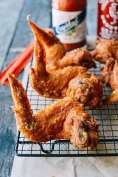 Takeout Style Fried Chicken Wings, by thewoksoflife.com