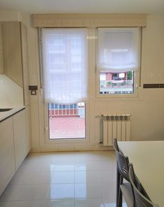 Sweet Home, Windows, Curtains, Home Decor, Doors, Kitchen Window Curtains, Elegant Curtains, Small Kitchens, Blinds