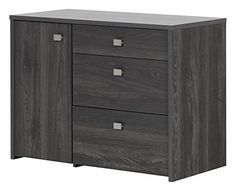This storage unit will be a great complement to any of the desks from the Interface collection for a well organized home office! its file drawer and multiple storage spaces are perfect for your needs! metal handles with satin nickel finish. 3 drawers: 2 practical drawers and 1 file drawer (at... more details available at https://furniture.bestselleroutlets.com/home-office-furniture/home-office-cabinets/product-review-for-south-shore-interface-storage-unit-with-file-drawer-gra