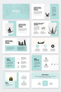 Modern Business Plan PowerPoint Modèle modèle modifiable | Etsy
