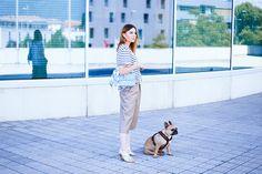 Anine Bing Shirt, Leder Culotte und Mules