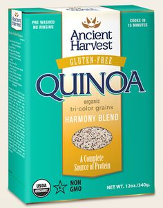 Why Rinse Quinoa? – More info at AncientHarvest.com