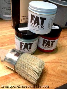 Fat Paint at Frontporchmercantile.com