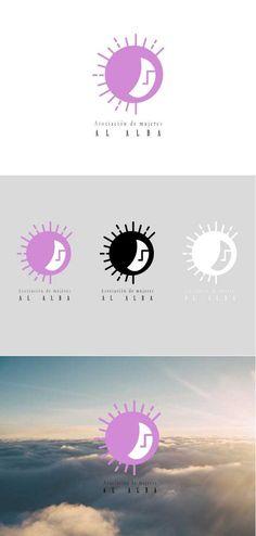 Propuesta de logotipo para la Asociación de mujeres Al Alba de Escañuela. Marzo, 2015.