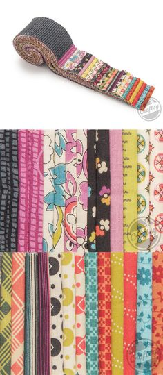 Denyse Schmidt's newest collection for FreeSpirit Fabrics hails from the 1970s Americana era complete with fun patterns and colors that come to life in these design roll cuts. Click: http://www.craftsy.com/ext/20121025_FabricPin2