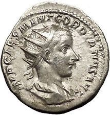 Gordian III 238AD Silver Ancient Roman Coin PAX Peace Goddess Cult i53163 https://trustedmedievalcoins.wordpress.com/2015/12/22/gordian-iii-238ad-silver-ancient-roman-coin-pax-peace-goddess-cult-i53163/
