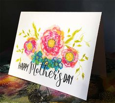 Download a Free Mother's Day Card for gift giving.