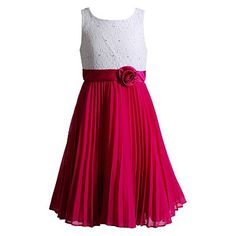 Emily West Pleated Chiffon Dress - Girls 7-16