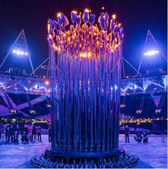 2012 London Olympics Cauldron