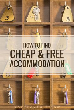 Wanna travel the world on a budget, visit hidden places & make new friends? Then you should read How to Find Cheap & Free Accommodation! #DontPayFull